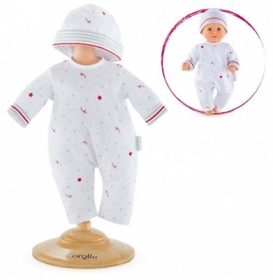 """Corolle Fby59 Pajamas Little Star For 12"""" Baby Doll - New, Sealed"""