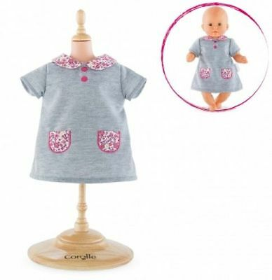 """Corolle Fby64 Floral Bloom Dress For 12"""" Baby Doll - New, Sealed"""