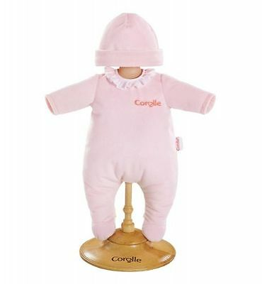"""Corolle Dmv01 Pink Pajamas For 14"""" Baby Dolls - New, Sealed"""