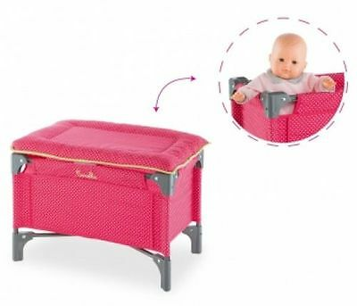 Corolle Dmt98 Doll Cherry Bed & Changing Table - New, Sealed