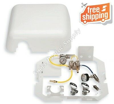 Premium Utility Center Junction Box with Cover and Frame, White - DCI #8329