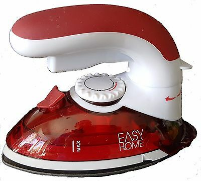 Easy Home 6224 Travel Chic Steam Iron Garment Steamer Non stick sole-plate 800W
