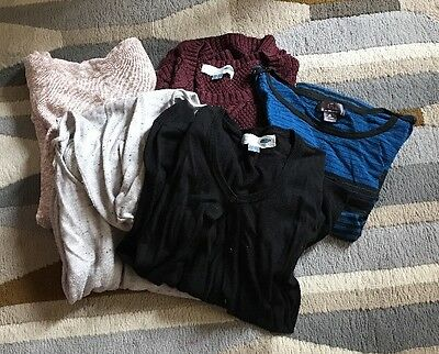 Lot Of 5 Maternity Sweaters L XL Motherhood Maternity Old Navy