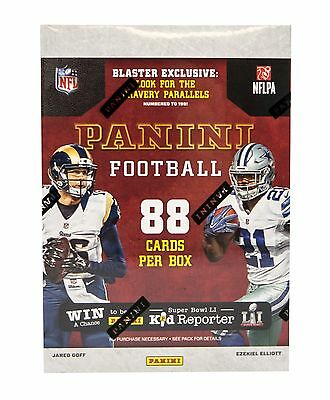 2016 Panini NFL Football 11-Pack Box - New & Sealed, 88 Cards