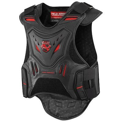 Icon Field Armor Stryker Protective Motorcycle Vest black/red (choose size)