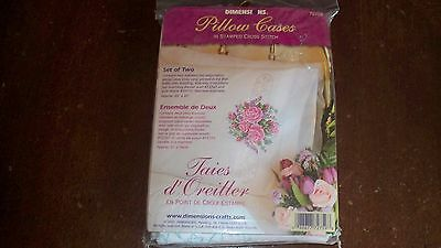 NIP! Dimension Stamped Pillow Cases to C/S  #72759