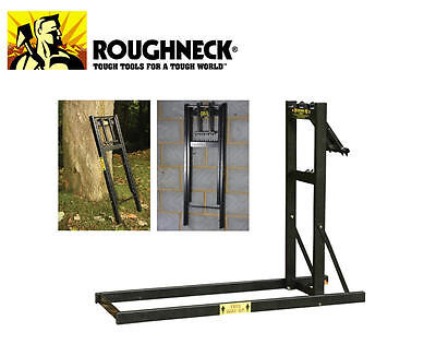Roughneck Loggers Mate Chainsaw Saw Horse Smart Holder Smartholder Log ROU65690