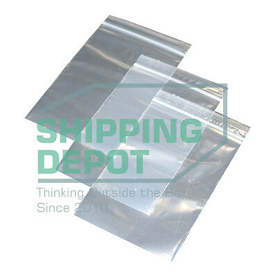 """1-4000 2x3 4MIL Poly Ziplock Clear Resealable Reclosable Bags 2"""" x 3"""""""