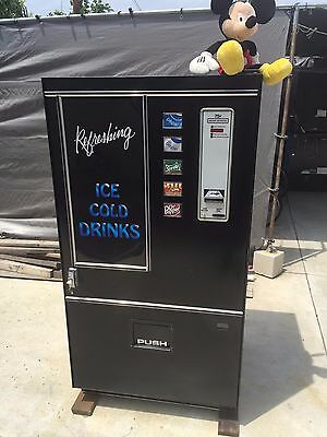 Cold Drink Soda Vending Machine-Converted To Safe- Or For Movie Prop-Coke-Pepsi
