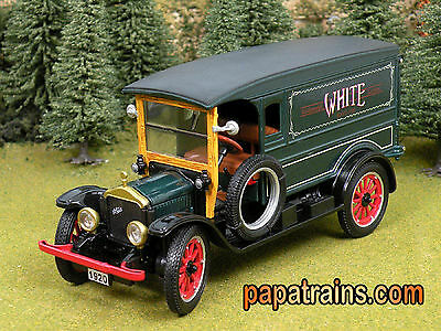 Die Cast 1920 Green White Delivery Van G Scale 1:32 by Signature