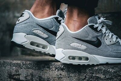 best loved 1727b 9a764 Nike Air Max 90 Picnic Pack Black Sail White Canvas UK 11 US 12 95 Force