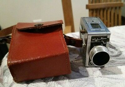 Vintage Universal Minute 16 SubMiniature Spy Camera with leather case