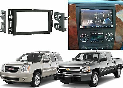 Metra 95-3305 Double DIN Installation Dash Kit For 2007-2013 Chevrolet GMC New