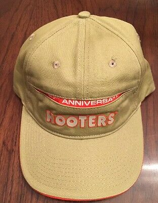 HOOTERS 20th Anniversary HAT / BALL CAP - Established 1983 -  NWOT