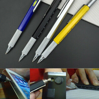 New Multi Pen Tool Stylus Gift DIY Amazing With Screwdriver Spirit Level