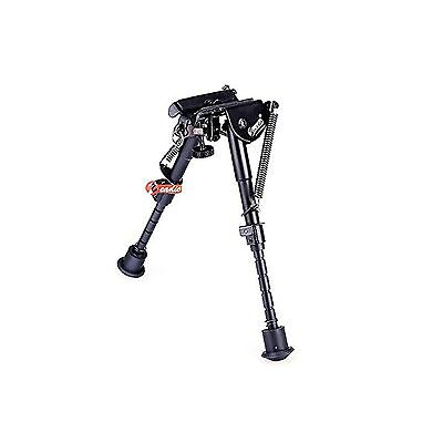 """Zeadio Extendable Bipod with Sling Mount for Rifle Air Gun (6"""" - 9"""")[5 Ye... New"""