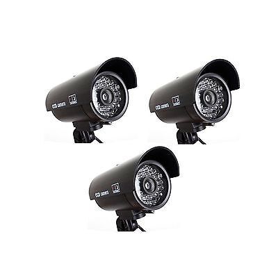 Seesii Brand Dome Dummy Fake Camera Home Surveillance Security LED Night ... New