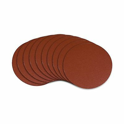 POWERTEC 110250 6-Inch PSA 60-Grit Aluminum Oxide Self Stick Sanding Disc... New