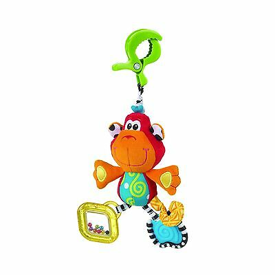 Playgro 184797MK Dingly Dangly Monkey Toy for Baby Multi New