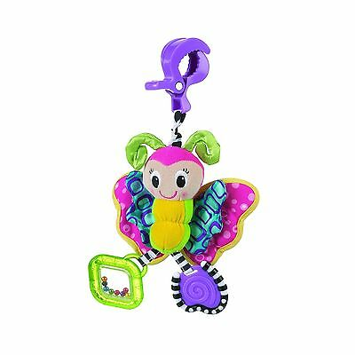 Playgro 184797BU Dingly Dangly Butterfly Toy for Baby Multi New