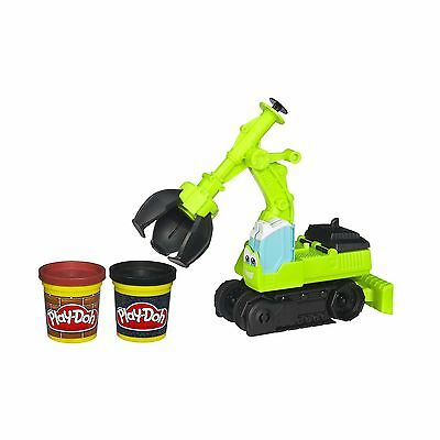 Play-Doh Diggin' Rigs Tonka Chuck and Friends Chomper The Excavator Playset New
