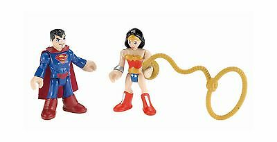 Fisher-Price Imaginext DC Super Friends Superman and Wonder Woman New