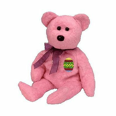Ty Beanie Babies Eggs the Bear (Pink Version) Retired [Toy] [Toy] New