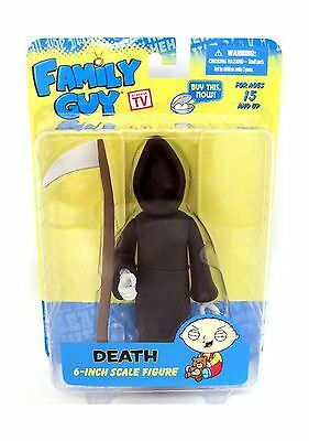 Mezco Toyz Family Guy Classic Series 3 Action Figure Death New