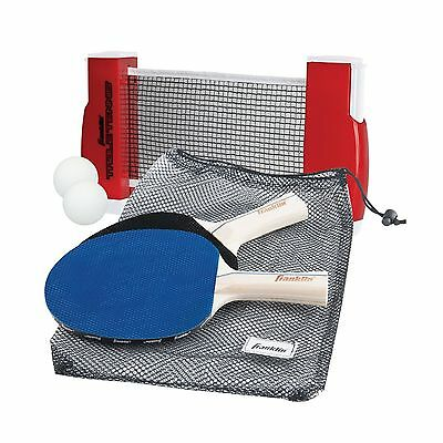 Franklin Sports Table Tennis To Go (Multi-color) New