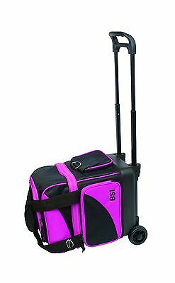 BSI Single Ball Roller Bag Black/Pink New