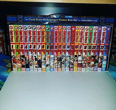 one piece vol 1-70 box set 1-3 plus extras