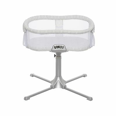 Halo Innovations Halo Bassinest Swivel Sleeper - Premiere Series Silver/W... New