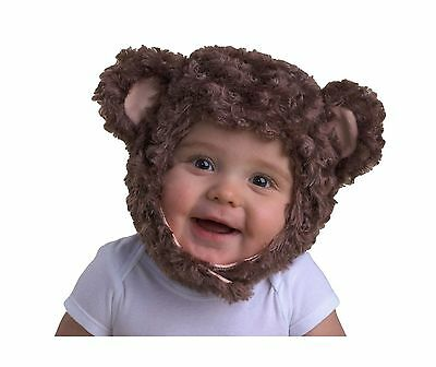 Zubels Monkey Hat 1-2 Year Brown New