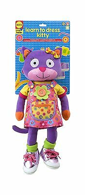 ALEX Toys - Early Learning Learn To Dress Kitty - Little Hands 1491 New