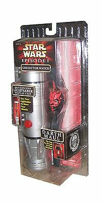 Star Wars Episode 1 Collector Watch- Darth Maul New