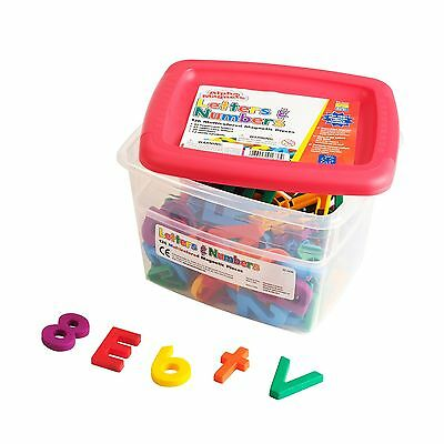 Educational Insights AlphaMagnets Letters and Numbers Combo Set Multicolo... New
