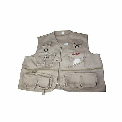 Eagle Claw Adult Fishing Vest Large New