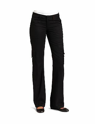 Dickies Women's Relaxed Cargo Pant Black 8 New