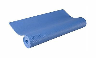 "j/fit 68"" Length Yoga Mat (French Blue) French Blue 68-Inch New"