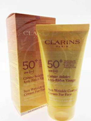 Clarins Sun Wrinkle Control Cream For Face 75Ml Spf 50