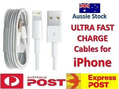 *2019* iPhone X 8 7 6s 5s SE Lightning USB Data Cable Charger - GENUINE Quality