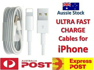 3x USB Lightning Data Charging Cable For Apple iPhone 6 6s 7 8 X XS Max 5s