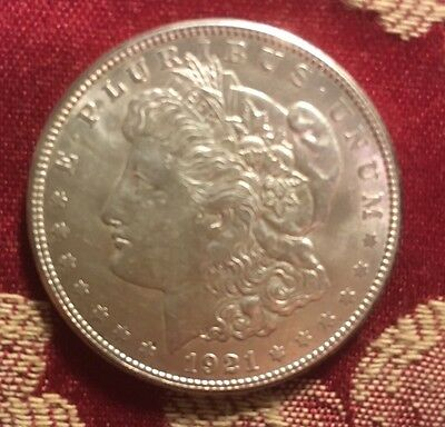 USA 1921-San Francisco Morgan Dollar UNC - Rare!