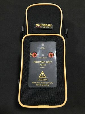 Martindale VI13800 Voltage Indicator And PD440 Voltage Proving Unit - New