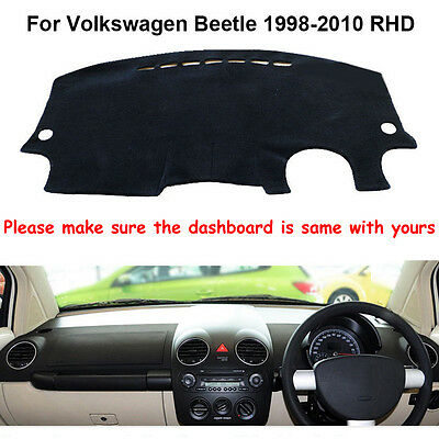 For Volkswagen Beetle 1998-2010 Dashmat Dashboard Mat RHD Dash Board Cover Pad
