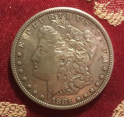 USA 1881-San Francisco Morgan Dollar UNC - Rare!