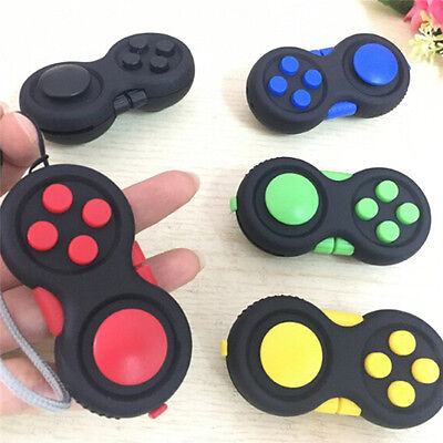 Anti-Anxiety Hand Shank Pad Helps Focusing Fidget Toy 3D Figit Kids Adults New
