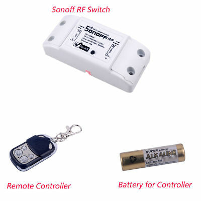 Sonoff 433Mhz RF Wifi Wireless Smart Home Switch 4 Key Cloning Remote Controller