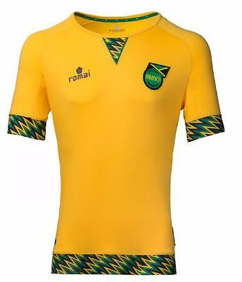 JAMAICA Official Romai Home Football Shirt 2015/16 NEW S,M,L,XL,XXL Jersey