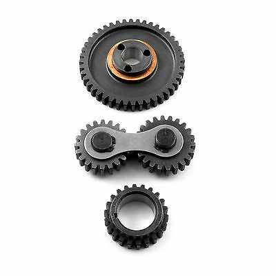 Scorpion Small Block Ford Timing Gear Drive Dual Idler 289,302,351W SBF Noisey